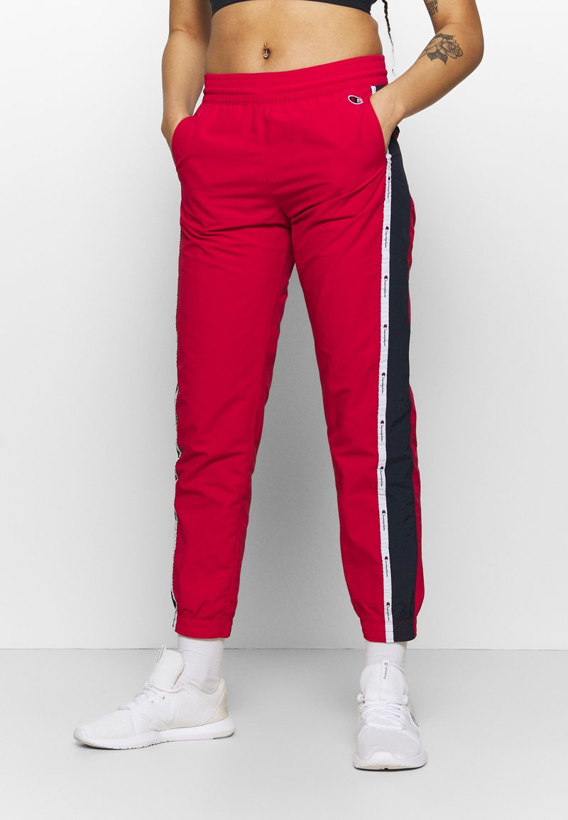 Champion - ELASTIC CUFF PANTS ROCHESTER - Pantalones deportivos - red