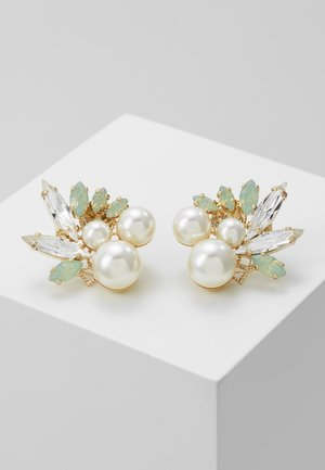 Earrings - light green