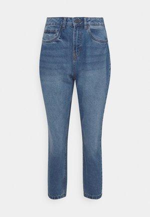 NMISABEL MOM JEANS  - Skinny džíny - medium blue denim