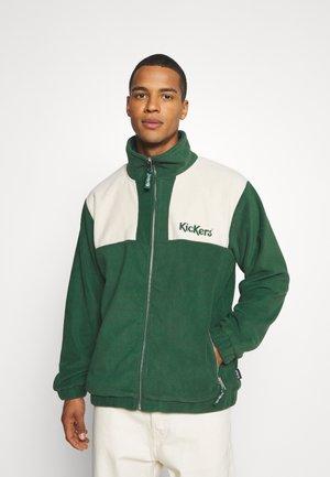 PANELLED - Veste polaire - green