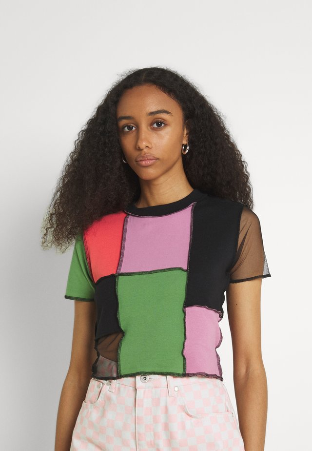 RISING - T-shirt print - multi