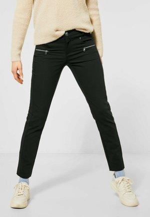 Slim fit jeans - grün