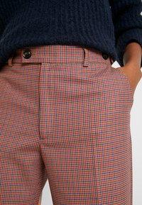 Leon & Harper - PHILIBERT CHECK - Trousers - camel - 5