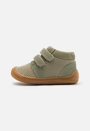 Baby shoes - dusty olive