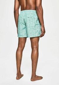 Hackett London - H PRINT SW - Swimming shorts - green - 2