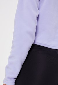 The North Face - GLACIER CROPPED ZIP - Fleece jumper - sweet lavender - 6