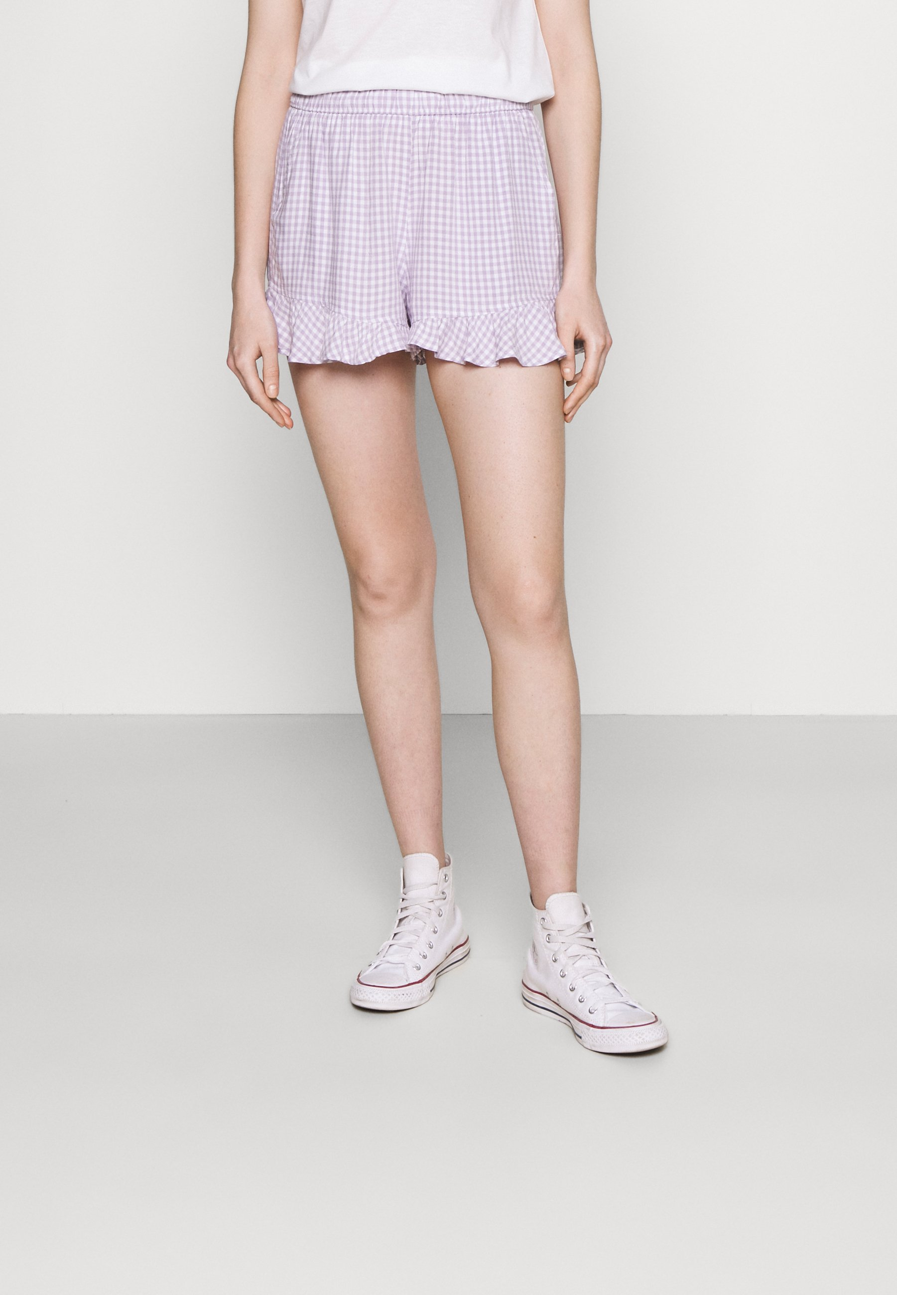 Mujer CHAIN RUFFLE HEM - Shorts