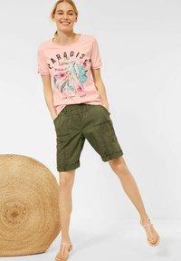 Cecil - Print T-shirt - rosa - 1