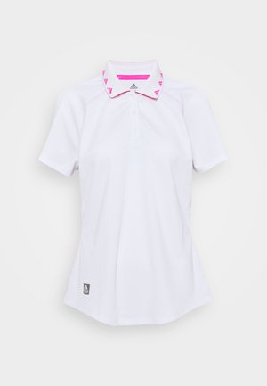 EQUIPMENT SHORT SLEEVE - Polo shirt - white