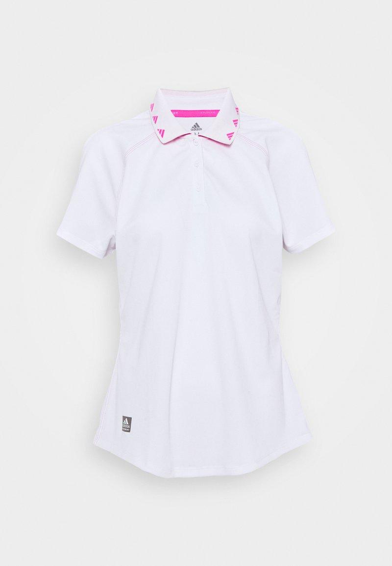 adidas Golf - EQUIPMENT SHORT SLEEVE - Polo shirt - white