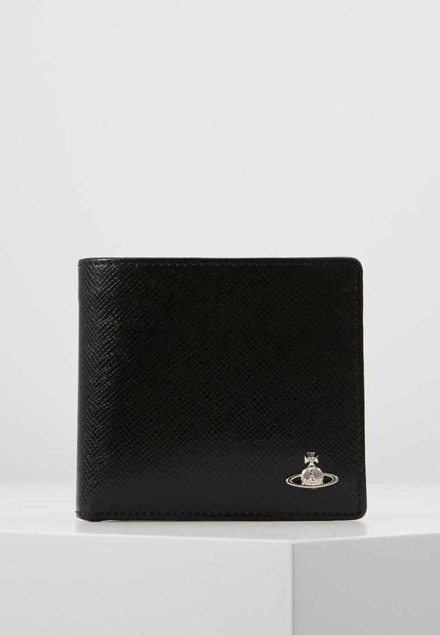 KENT  WALLET WITH COIN POCKET - Portafoglio - black