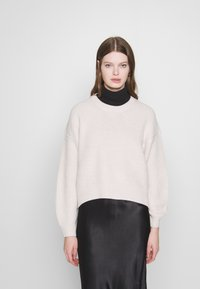 New Look - FASHIONED JUMPER - Svetr - off white - 0