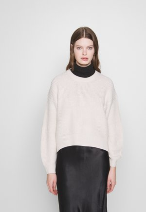 FASHIONED JUMPER - Strikkegenser - off white