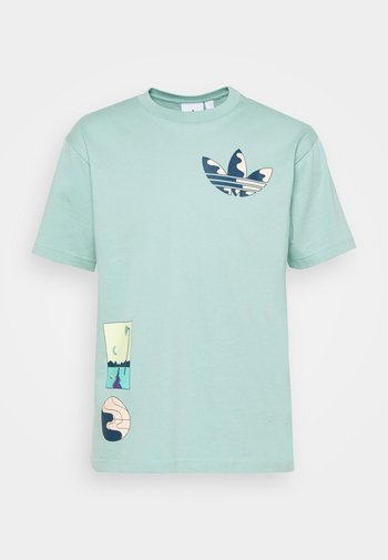 SURREAL SUMMER - T-shirt con stampa - hazy green