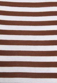 Esprit - STRIPE LONGSLEEVE - Long sleeved top - brown - 2