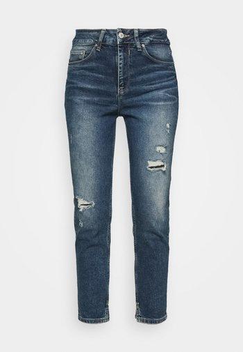 BERNITA - Jeans Skinny - havers wash