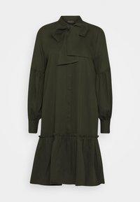 Bruuns Bazaar - PRALENZA ALLEA SHIRT DRESS - Day dress - green night - 6