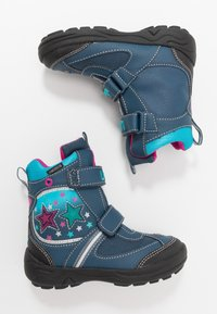 LICO - STERN V BLINKY - Winter boots - marine/pink/türkis - 1