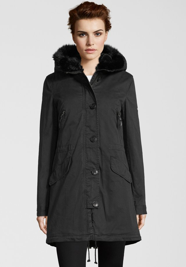 CREEK - Winter coat - black