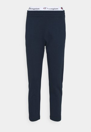 STRAIGHT HEM PANTS - Spodnie treningowe - dark blue