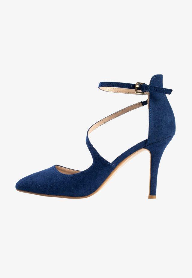 CINTHYA - Hoge hakken - dark blue