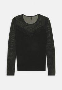 ONLY - ONLQUINN  - Long sleeved top - black - 4