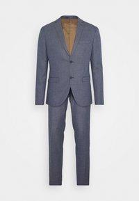 TEXTURE SUIT - Oblek - blue