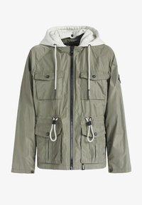 khujo - FAMKE - Light jacket - hellkhaki - 8