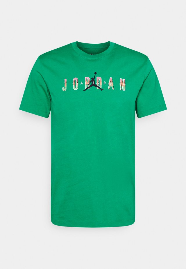 CREW - Print T-shirt - stadium green