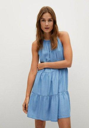 OKA H - Denim dress - azul claro