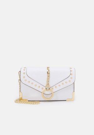 Sac bandoulière - bright white/light gold-coloured