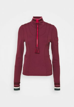 HIT THE TRAIL LAYER - Long sleeved top - mulberry