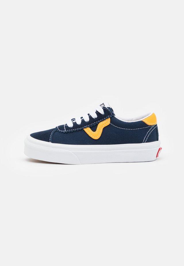 SPORT UNISEX - Sneakers laag - dress blue/saffron