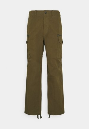 PANT - Cargo trousers - military olive