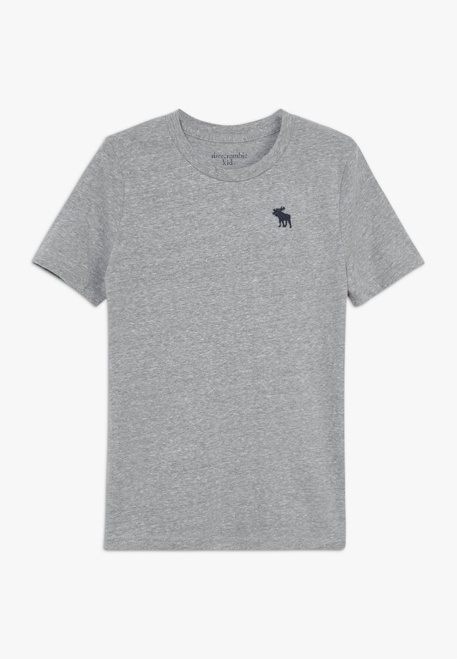BASIC SOLID TEE - T-shirts basic - grey
