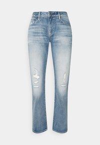 G-Star - KATE BOYFRIEND - Straight leg jeans - aqua destroyed - 4