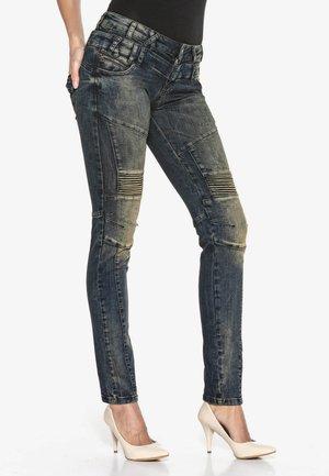 ABANDONED - Slim fit jeans - khaki