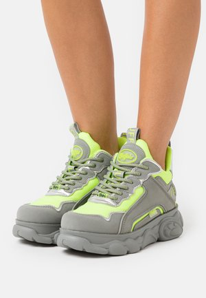 CHAI - Trainers - neon yellow/grey
