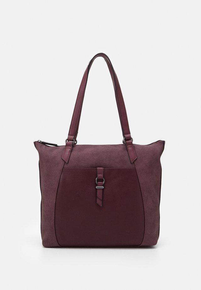 LONE - Handbag - wine