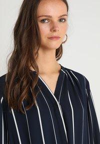 Selected Femme - SFDAMINA 7/8 DRESS  - Shirt dress - dark sapphire - 3