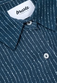 Brava Fabrics - Button-down blouse - blue - 5