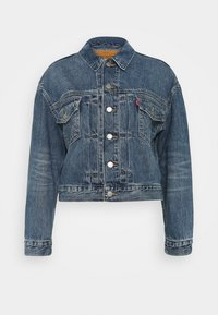Levi's® - NEW HERITAGE TRUCKER - Veste en jean - blue denim