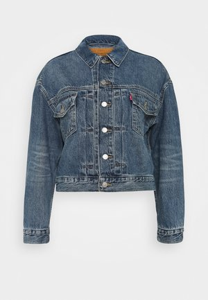 NEW HERITAGE TRUCKER - Denim jacket - blue denim