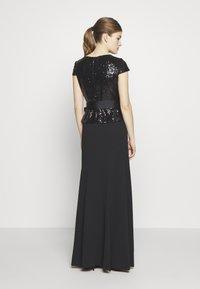 Lauren Ralph Lauren - LUXE TECH LONG GOWN COMBO - Robe de cocktail - black - 2