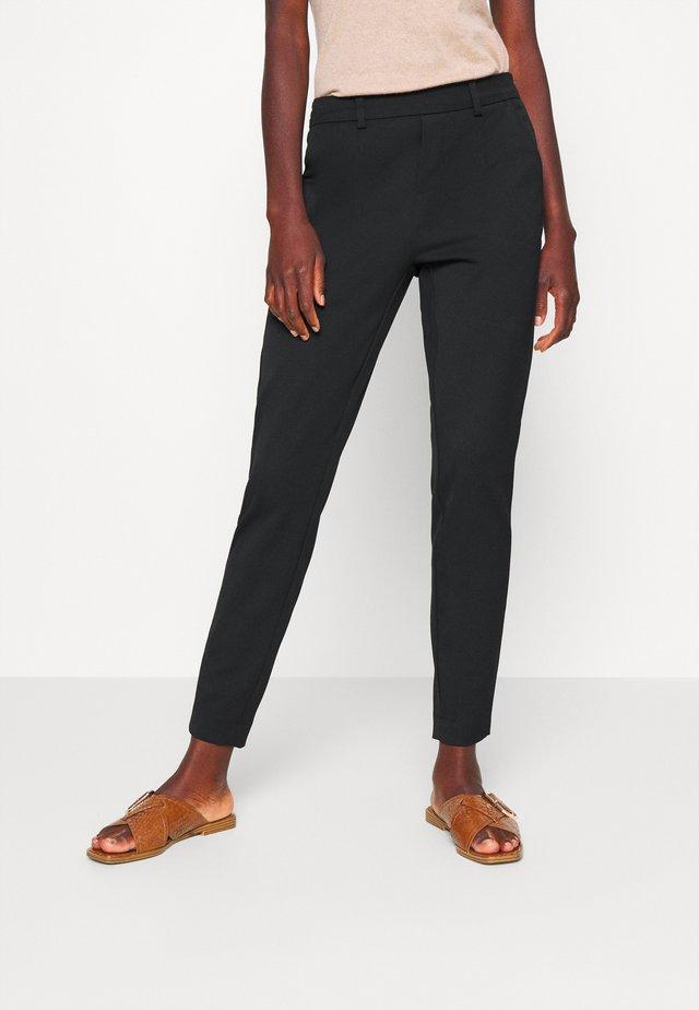 OBJLISA SLIM PANT - Pantaloni - black