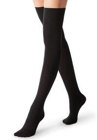 Calzedonia - Over-the-knee socks - black - 0