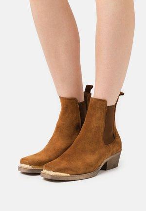 ELLE  - Classic ankle boots - tan