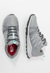 The North Face - W LITEWAVE FASTPACK II WP - Trainers - griffin grey/dark shadow grey - 1