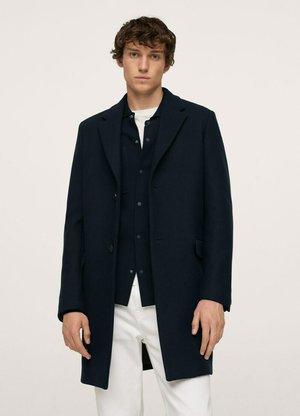 RECYCLED  - Short coat - dark navy