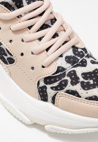 Steve Madden - AJAX - Sneakers - beige/multicolor - 2